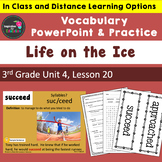 Life on the Ice Vocabulary PowerPoint  - Aligned w/ Journe