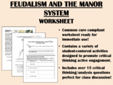 Feudalism and the Manor System in the Middle Ages -  Global History Common Core