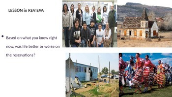 Life on the Native American Reservations PowerPoint