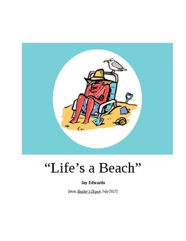 Life's a Beach ~ Humorous Essay