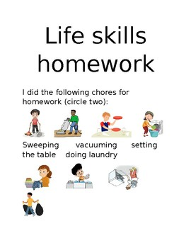 Life skills homework