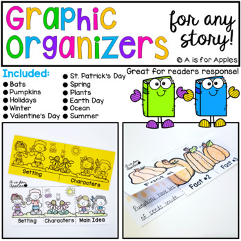 Lift-the-Flap Graphic Organizers for Any Story Bundle
