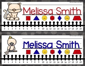 Nameplates EDITABLE - Life with Pets Decor