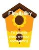 LifeSkills, Core Values, Character Education, Virtues, Birdhouse Theme