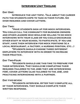 Life Skills: Getting a Job