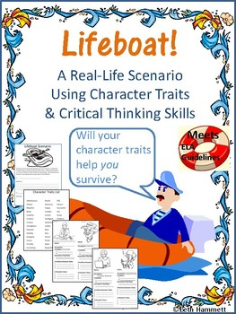 Character Analysis: Lifeboat! A Real-Life Scenario Using Character Traits