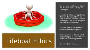 Lifeboat Ethics Powerpoint