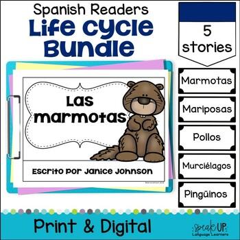 Lifecycle Readers Bundle {Spanish Version} el ciclo de vida