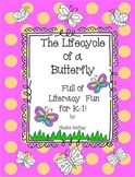 Lifecycle of a Butterfly Literacy Fun!!