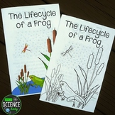 Lifecycle of a Frog Children's Book