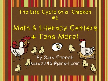 Lifecycles: Chicks Math and Literacy Unit #2 ~ Common Core Aligned