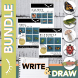 Life Cycles Activity Directed Drawing and Write BUNDLE Dig