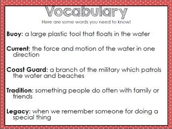 Lifeguard Fiction Comprehension Mini Book