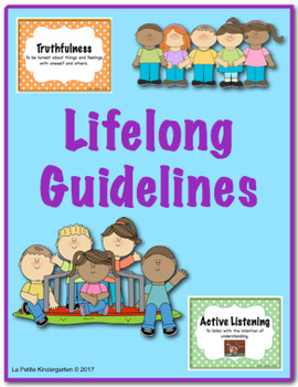 Lifelong Guidelines Book and Mini Posters