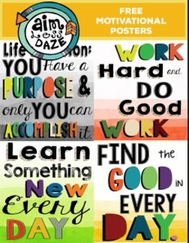 FREE-Motivational Posters