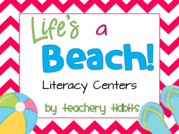 Life's a Beach! Literacy Centers