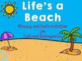 Life's a Beach Pre-K and Kindergarten Math and Literacy Ac