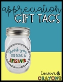 Lifesaver Appreciation Gift Tags