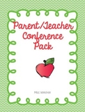 Lifesaver Parent Teacher Conference Packet