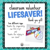 Lifesaver Parent or Volunteer Thank You Gift
