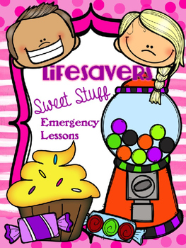Lifesavers SWEETS and CANDY {NO PREP} Substitute Lesson Plans