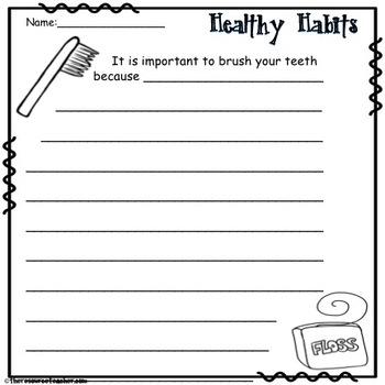 Lifeskill Activity (Healthy Habits)