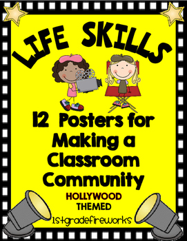 Lifeskill Posters..HOLLYWOOD Themed