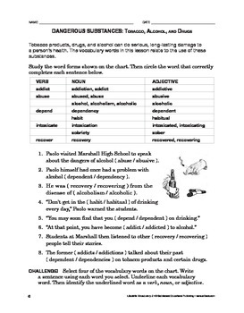 Lifeskills Vocabulary 2