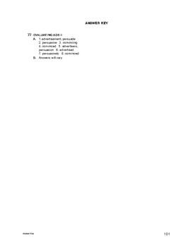 Lifeskills Vocabulary: Evaluating Ads 2