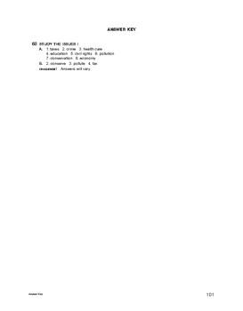Lifeskills Vocabulary: Study the Issues 1