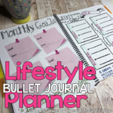 Daily Planner and Bullet Journal Planner