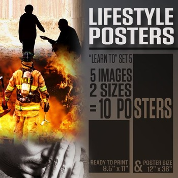 "Lifestyle Posters (""Learn To"" Series 5)"