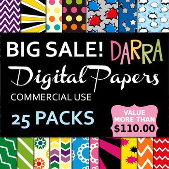 Lifetime Access to all commercial use Digital Papers Growing Bundle