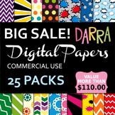 Digital Papers Big Bundle Sale