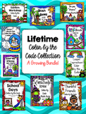 1st, 2nd, 3rd Grade Math Facts Lifetime Color by the Code