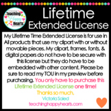 Lifetime Extended License for Clipart