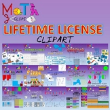 Lifetime License for Math Clips Clipart