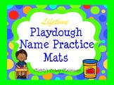 Lifetime Playdough Name Practice Mats