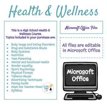 Lifetime Wellness Course - High School - FREE Lifetime Updates!