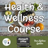 Lifetime Wellness Course - High School - FREE Lifetime Updates!