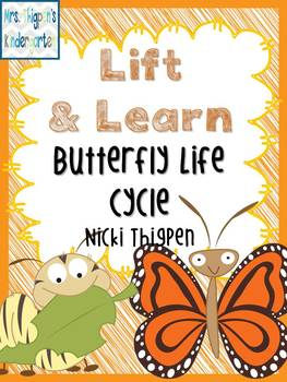 Lift & Learn Butterfly Life Cycle