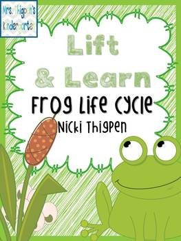Lift & Learn Frog Life Cycle