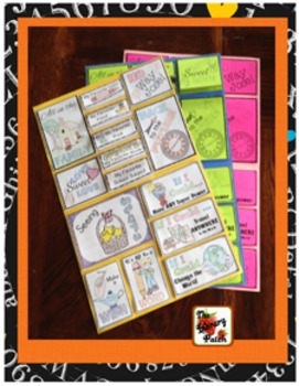 An All About Me Poster Activity