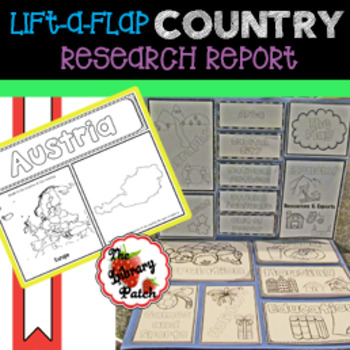 Lift-a-Flap Country Report Research