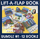 Lift-a-Flap Interactive Book BUNDLE 1