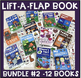 Lift a Flap Interactive Book BUNDLE #2