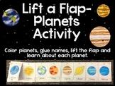Lift-a-flap Planets activity