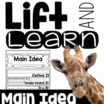 Lift and Learn: Main Idea