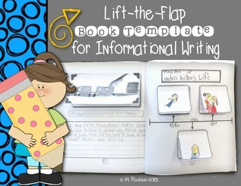 Lift-the-Flap Book Template for Informational Writing