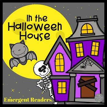 Lift the Flap Halloween Emergent Reader with BONUS